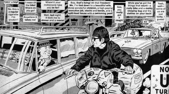 Mad Magazine's version of Then Came Bronson