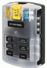 Blue Sea Systems marine-grade fuse block