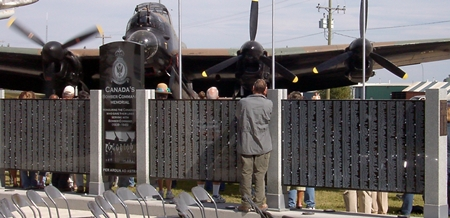 It's painted black on the underside because it made its bombing runs at night.