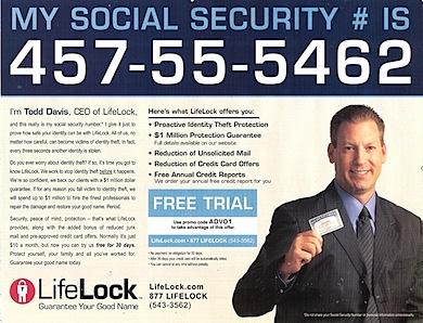 LifeLock brags