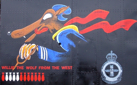 Willie The Wolf From The West