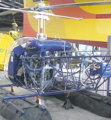 A Bell Helicopters model 47