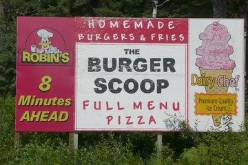 The Burger Scoop, Ignace, Ontario