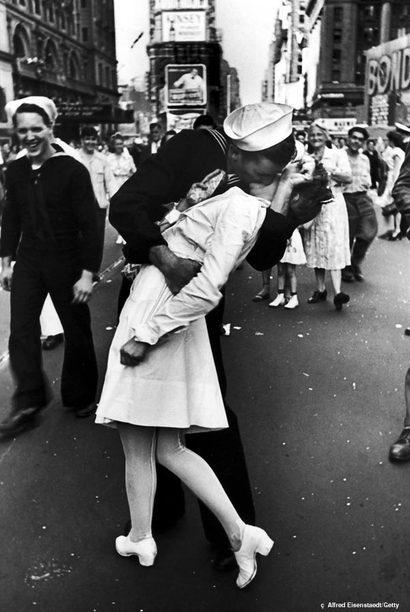 A stranger's kiss lasts a lifetime