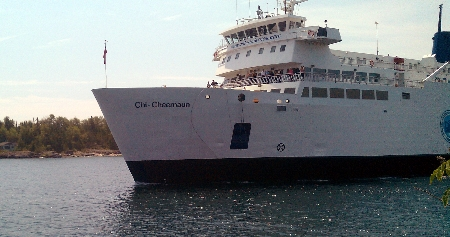 Chi-Cheemaun ferry South Baymouth/Tobermory