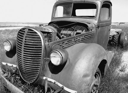 '32 Chevy long ago retired