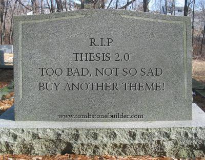 Buy thesis theme